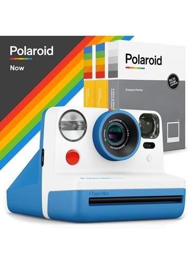 Polaroid Polaroid Now Mavi Instant Fotoğraf Makinesi Ve 24Lu Film Hediye Seti Mavi